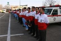 60 امدادگر مهابادی در طرح نوروزی هلال احمر مشارکت می کنند