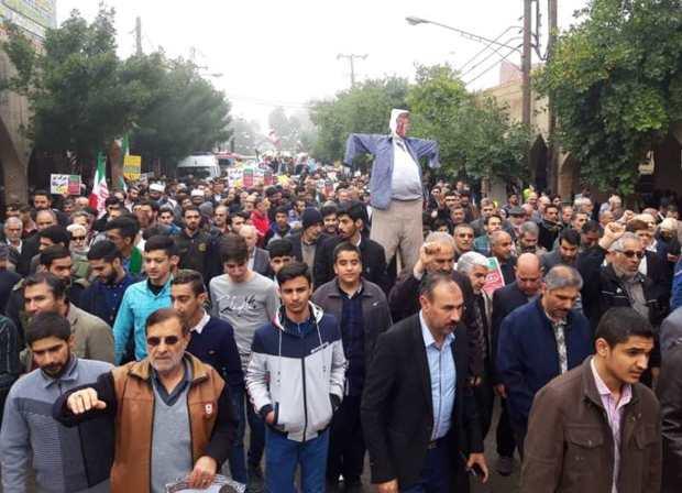 شکوه 40 سال ایستادگی مردم شمال خوزستان به نمایش درآمد