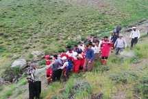 یک نفر بر اثر سقوط از ارتفاعات کوه پنجه در قروه جان باخت