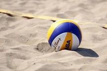تیم ملی والیبال ساحلی به فینال نرسید