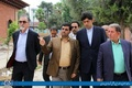 بازدید نماینده مردم ساری و میاندرود در مجلس شورای اسلامی به همراه شهردار ساری از پروژههای عمرانی