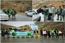 توزیع 40 هزار کیسه زباله و تراکت آموزشی میان گردشگران ایلام