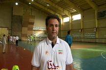 تیم ملی هندبال بزرگسالان کشور در شهرستان مشگین شهر اردو زد