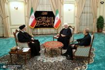 رئیس جمهور: گام سوم ایران از روز جمعه؛ هر آنچه کشور در زمینه تحقیق و توسعه فناوری هسته ای نیاز دارد، سازمان انرژی اتمی اقدام کند/ اقدامات ایران در چارچوب مقررات آژانس خواهد بود/ مهلت ۶۰ روزه دیگری پیش روی اروپاست