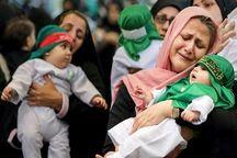همایش شیرخوارگان حسینی در فردیس برگزارشد