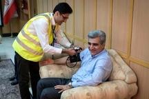آغاز رسمی فاز اجرایی طرح بسیج ملی کنترل فشار خون در گیلان
