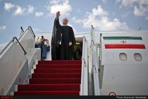 رئیسجمهور وارد فرودگاه شاهرود شد  شرکت در مراسم روز دانشجو در دانشگاه علوم پزشکی سمنان