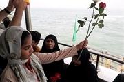 گلباران محل شهادت شهدای هواپیمای مسافربری ایران