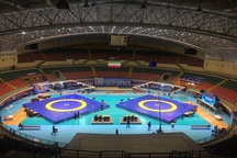 مسابقات کشتی فرنگی جام باشگاه های جهان در اردبیل آغاز شد