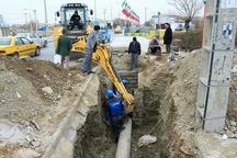 اجرای بیش از ۱۲ کیلومتر پروژه خط انتقال و شبکه آب در بانه