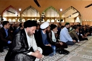 مراسم بزرگداشت آیت الله آمیراحمد تقوی در یاسوج برگزار شد