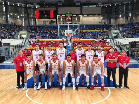 برد تیم ملی بسکتبال امید در جام ویلیام جونز