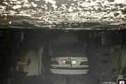 دختر نوجوان از میان آتش و دود نجات پیدا کرد+عکس