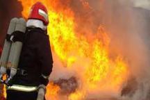 آتش سوزی برج 18 طبقه در مشهد مهار شد