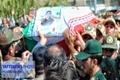 پیکر شهید لرستانی حادثه تروریستی اهواز در خرم آباد به خاک سپرده شد
