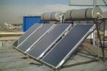 15 دستگاه آبگرمکن خورشیدی در مناطق روستایی بانه نصب شد