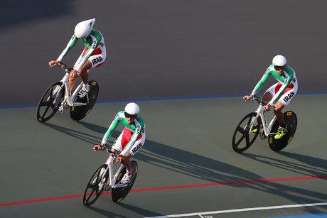نقره آسیا برای تیم اسپرینت دوچرخه سواری ایران