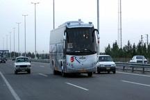 ترافیک عادی و روان خودروها در آزادراه های قزوین