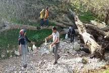 سیزده بدرجشن پاکسازی طبیعت از زباله
