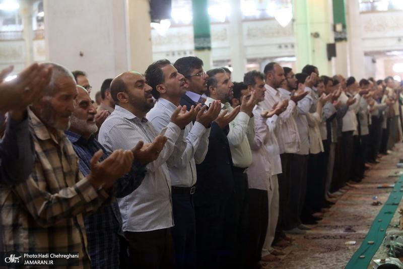 نماز عید سعید قربان در حرم کریمه اهل بیت(ع)