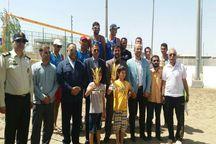 قهرمانی تیم بسیج در والیبال ساحلی نیروهای مسلح کشور