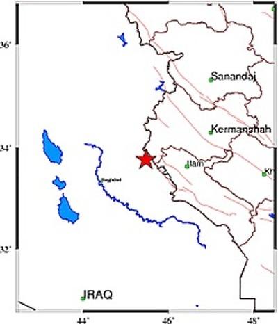 زلزله بخش سومار در شهرستان مرزی قصرشیرین را لرزاند