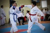 مسابقات کاراته جام رمضان قزوین با استقبال همراه بود
