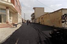 50 هزار متر مربع از معابر شهر ارکواز آسفالت شد
