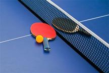 مسابقات تنیس روی میز کارمندان کشور در قزوین آغاز شد
