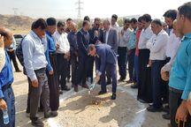 عملیات بهسازی جاده روستایی امامزاده محمد بن زید (ع) گتوند آغاز شد