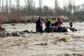 فوت و مفقود شدن سه نفر بر اثر وقوع سیل در کوهرنگ