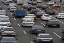ترافیک نیمه سنگین در محورهای استان قزوین