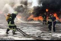 هشدار آتش نشانی شیراز درباره احتمال تکرار حادثه مشابه آتش سوزی انبار بولوار نصر