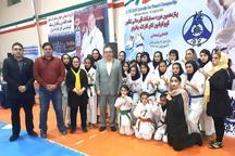 بانوان کاراته همدان 26 مدال رنگارنگ کسب کردند