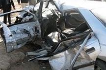 تصادف در قزوین یک کشته و هفت مجروح  داشت