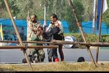 نماهنگی که سایت رهبر معظم انقلاب برای حادثه تروریستی اهواز منتشر کرد