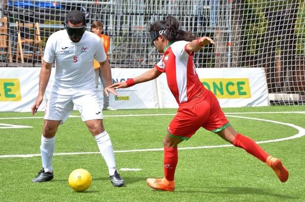 نتایج چند دیدار از فوتبال نابینایان ایران مشخص شد