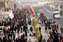 15هزار زائر اربعین حسینی درمرزهای خوزستان امدادرسانی شدند