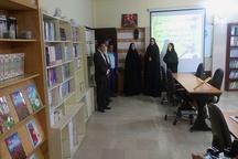 کتابخانه مشارکتی پادگان مشگین شهر افتتاح شد