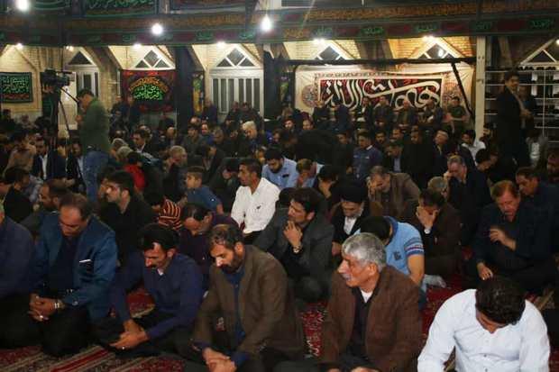 مراسم عزاداری پایان صفر در خوزستان برگزار شد
