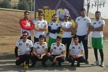 تیم بیسبال سیستان و بلوچستان مقام سوم کشوری را کسب کرد