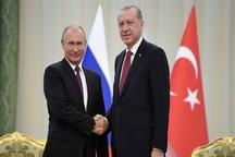 توافق پوتین و اردوغان بر سر عناصر مسلح میانه رو و خارجی در ادلب