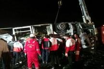 تغییر مسیر تانکر یکی از علت های حادثه تصادف کاشان- نطنز بود