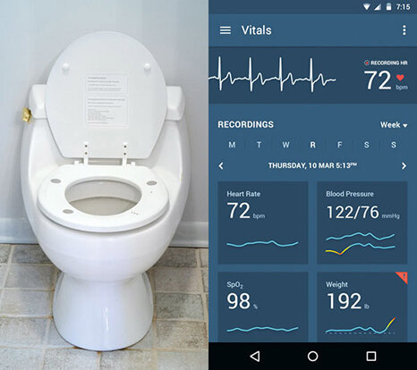 با این توالت فرنگی سلامت قلب خود را بسنجید