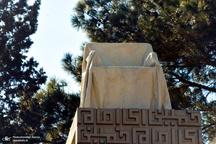 گلباران محل جلوس امام خمینی(س) در بهشت زهرا(س)