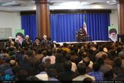 دیدار شورای هماهنگی هیات های مذهبی مهاجرین افغانستانی با سید حسن خمینی