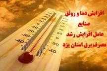 20 مگاوات به مصرف برق و پیک بار استان یزد اضافه شد