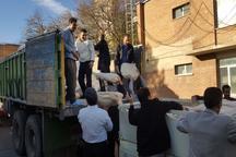 200 هزار قرص نان از همدان به مناطق زلزله زده غرب کشور ارسال شد