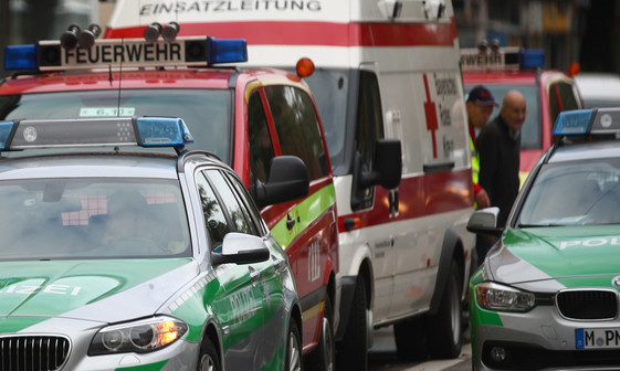 تصادف اتوبوس دانش آموزان در آلمان+ تصاویر