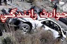 حادثه رانندگی در بروجرد یک کشته و چهارمجروح برجای گذاشت